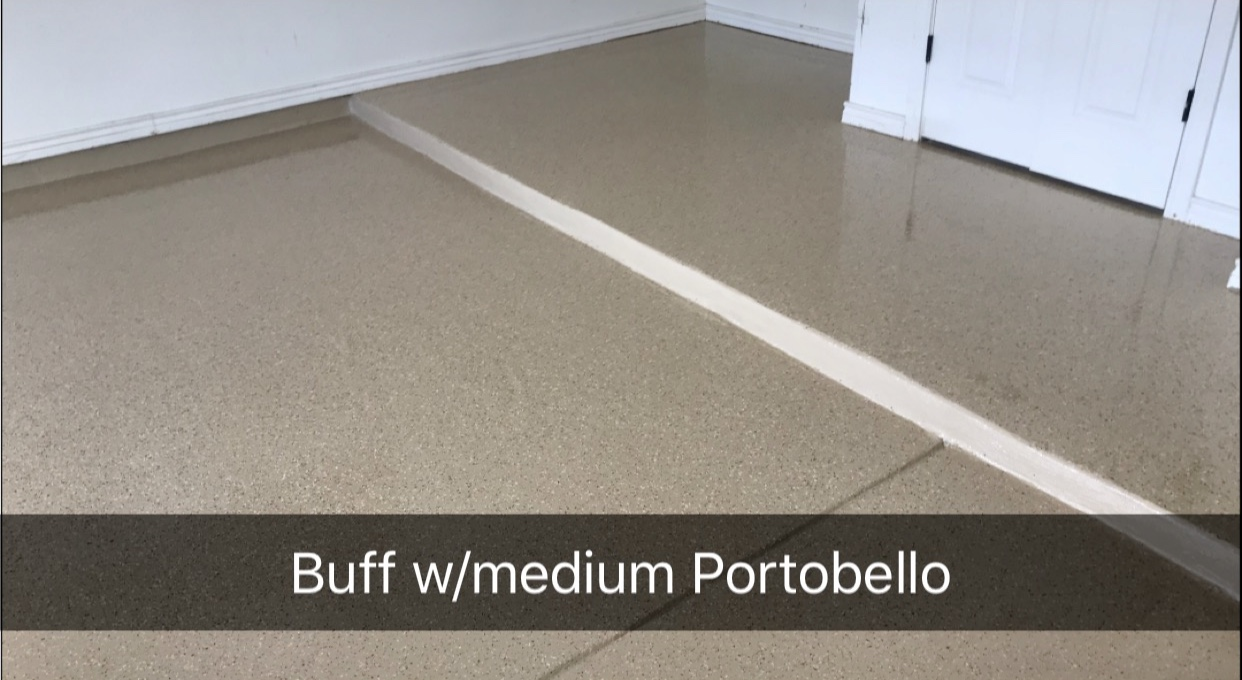 Residential Chipped Epoxy Flooring