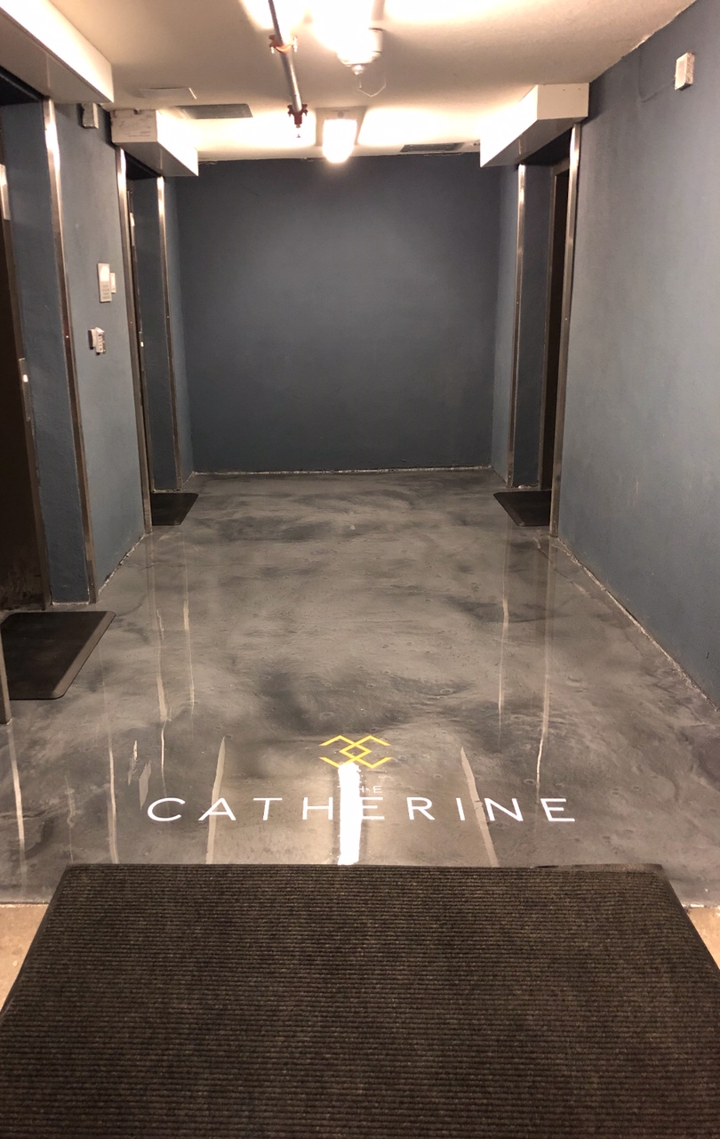 Residential Metallics Epoxy Flooring